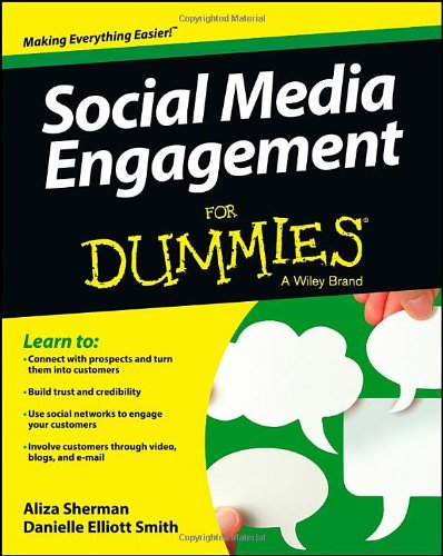 Social Media Engagement For Dummies (For Dummies (Business & Personal Finance))
