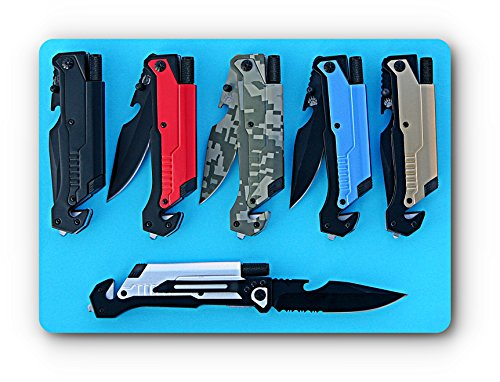 Grizzly 6-in-1 Tactical Pocket Survival Folding Knife