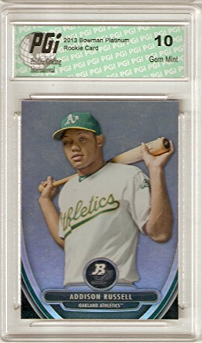 2013 Bowman Platinum Rookie Card #BPP33 Addison Russell PGI 10 (2013 Bowman Platinum compare prices)