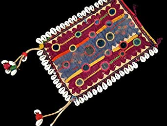 Banjara Mirror Textile Tribal Vintage Patch Belly Dance