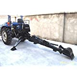 3 Point PTO Driven Hydraulic Backhoe Excavator Attachment 6600 John Deere Skid Steer