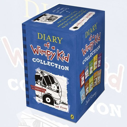 <b>Jeff Kinney 10 Books Set Diary of a Wimpy Kid Collection</b>