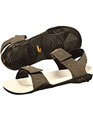 Puma Men's Vader II Ind. Dark Shadow And Dark Cheddar Synthetic Sandals And Floaters - 11 UK