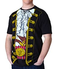 Impact Pirate Prince Mens Costume Tee…