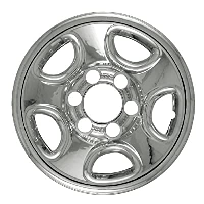 "Bully Imposter IMP-08X, Chevrolet, 16"" Chrome Replica Wheel Cover, (Set of 4)"