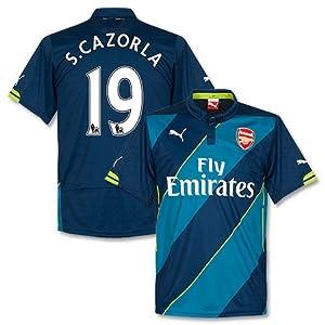 Arsenal 3rd S. Cazorla Jersey 2014 / 2015 - M