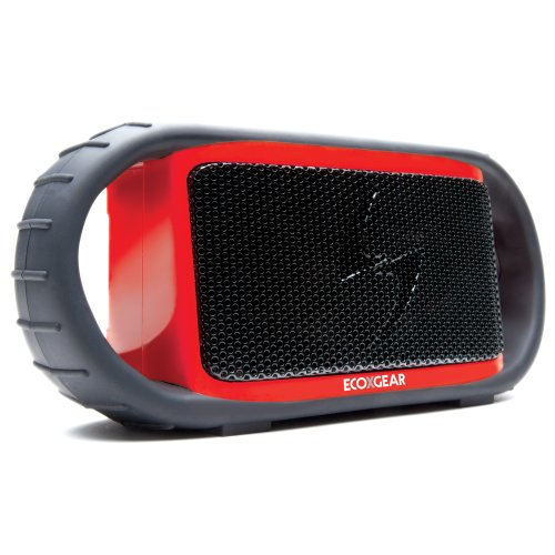 Grace Digital Ecoxbt Bluetooth Speaker And Smartphone-Red