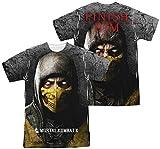 Mortal Kombat X - Finish Him (Front - Back Print) T-Shirt Size S