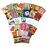 Bumper greetings card collection. 30 beautiful luxury art cards (all different designs). Fantastic value! See full product range by entering LUXURY CARD AND GIFT STATIONERY SELECTION in search box.by LUXURY CARD & GIFT...