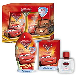 Disney - DI 71639 - Coffret de Bain - Cars 2