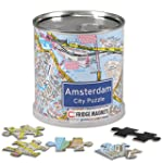 Extragifts City Puzzle Magnetici - Am...