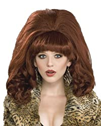 Big Red Peg Auburn Wig