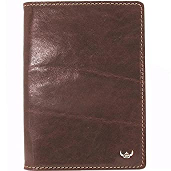 GOLDEN HEAD safe-rfid passport case /brown