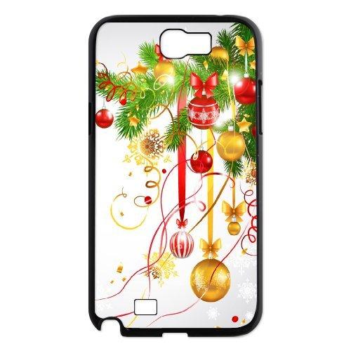 Samsung Galaxy Note 2 N7100 Christmas Phone Back Case Customized Art Print Design Hard Shell Protection Aq061949