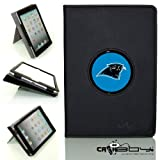 New SLEEP SMART Apple iPad Air (5th Gen) Ipad 5 leather Case By Calaboy- Interchangeable Design - Personalized Picture Frame w Carolina panthers Logo (FB38) at Amazon.com