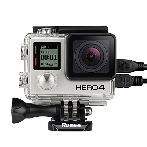 Rusee-Open-Side-Skeleton-Protective-Housing-Case-with-LCD-Touch-BacPac-Backdoor-For-GoPro-Hero-4-Hero-4-Black-Hero-3