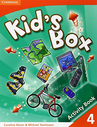 Kid's Box 4 Activity Book: Level 4