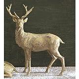 Twelve Days of Christmas Resin Standing Deer Statue