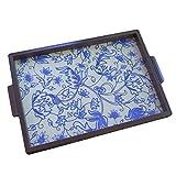 Craftghar Blue Multani Tray