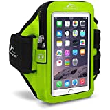Armpocket Ultra i-35 armband for iPhone 6, Samsung Galaxy S5, Galaxy Note 2/3 or similar phones or cases up to...