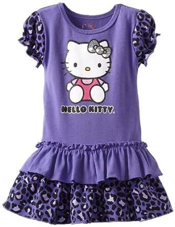 Amazon Hello Kitty Baby Girls Dress with Cheetah