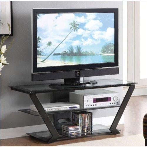 Coaster Home Furnishings 701370 Contemporary TV Console, Black