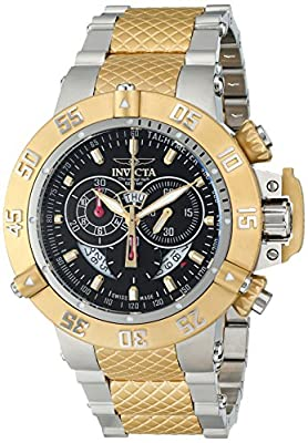 Invicta Men's 4698SYB Subaqua Analog Display Swiss Quartz Two Tone Watch