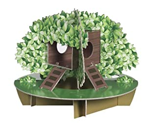 Habitrail OVO Tree House Carboad Hamster Maze