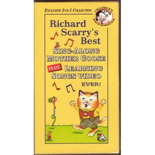 Amazon.com: Richard Scarry's Best Sing-Along Mother Goose Video Ever