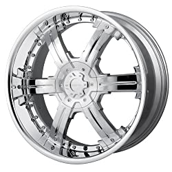 22×9.5 Veloche Victory (985) (Chrome) Wheels/Rims 5×115/127 (985C-22917)