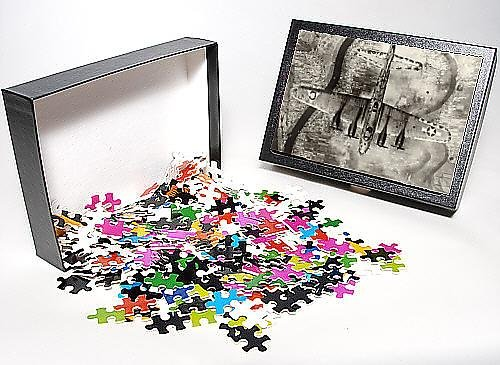 Photo Jigsaw Puzzle of Boeing B-17 Flying Fortress from above