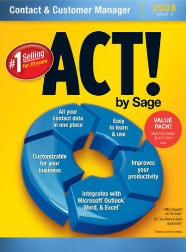 Act! By Sage 2008 10.0 Multi-Pack