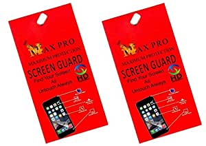 Max Pro Clear Screen Guards Pack of 2 LG G3 Stylus