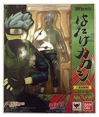 S H Figuarts Hatake Kakashi Naruto Shippuden Action Figure Bandai