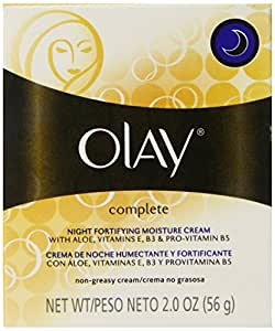 Olay Complete Night Fortifying Moisture Cream 2 Oz