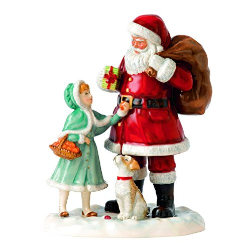 Royal Doulton A Gift for Santa 2015 Figurine (Royal Doulton 2015 compare prices)