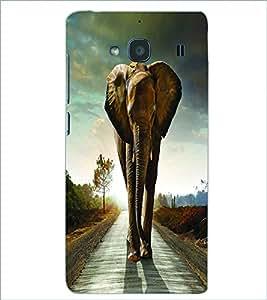 PRINTSWAG ELEPHANT Designer Back Cover Case for XIAOMI REDMI 2S
