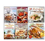 Halogen Oven Recipes Cookbook Collection Everyday Family 6 Books Set. (The Everyday Halogen Oven Cookbook, Halogen Cooking, The Halogen Oven Secret, The Halogen Oven Cookbook, [Spiral-bound] Halogen Cooking Made Simple & Halogen Cooking Made Easy Norma M