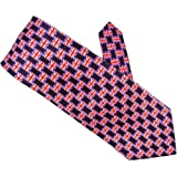 SQUARE UNION JACK & ST GEORGE FLAGS 100%SILK SUPERB QUALITY TIES ** SAME DAY POSTING***