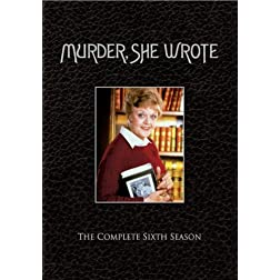 Murder, She Wrote - The Complete Sixth Season