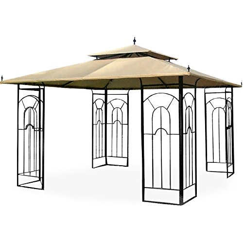 Garden winds replacement canopy for the costco arrow for Outdoor furniture gazebo