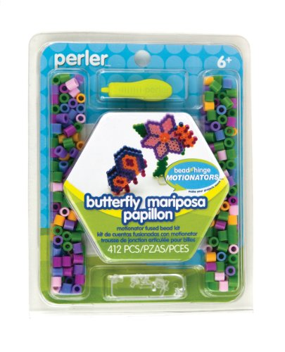 Perler Fused Beads Kit, Butterfly Motionator - 1