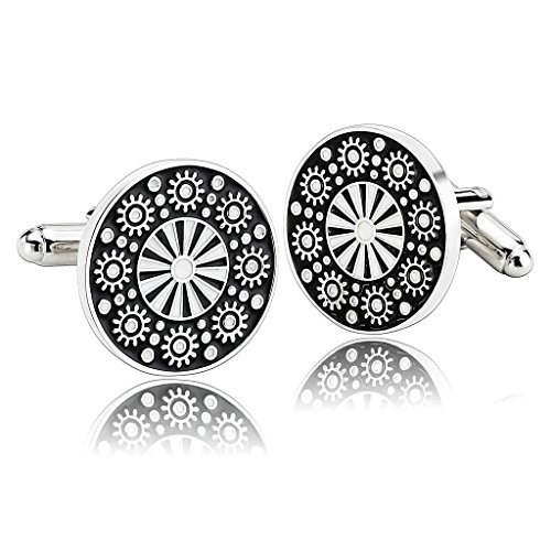 alimab-jewelry-mens-cuff-links-engraved-clouds-flower-shirt-black-white-stainless-steel-men-cufflink