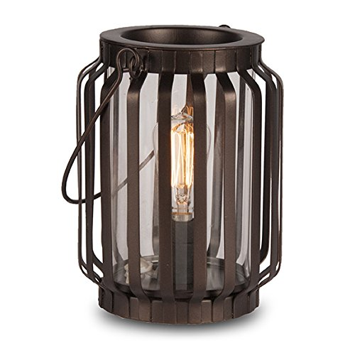 Edison Scout Electric Scented Candle Wax Warmer - One of Our Rustic Candles Holders to Bring Rich Fragrance to Your Home - One of Best Office Decor Products to be Desk or Table Lamp 0