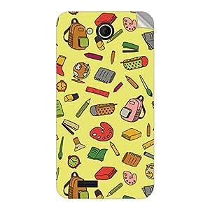 Garmor Designer Mobile Skin Sticker For Videocon A55q HD - Mobile Sticker