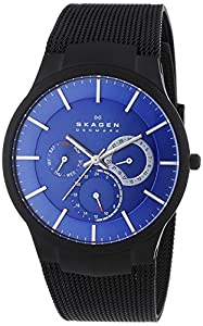 Skagen Men's 809XLTBN Quartz/Multi Titanium Black Watch