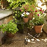 Lakeland Garden & Outdoors 3-Tier Corner Tiered Vintage Plant Stand
