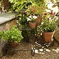 Lakeland Garden & Outdoors 3-Tier Corner Tiered Vintage Plant Stand