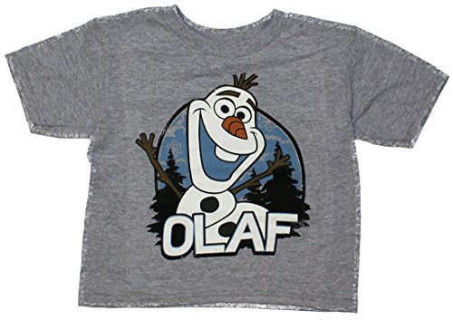 Disney Frozen Olaf Forest Toddler T-Shirt Grey 5T