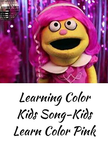 Learning Color Kids Song-Kids Learn Color Pink